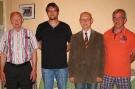 Georg Karl , Volker Kotzbauer, Dietmar Feuerer und Reinhard Kollroß (v.l.n.r.)