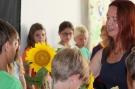 Sonnenblumen zum Abschied