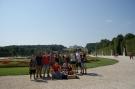 Die Hohenfelser vor Schloss Schönbrunn