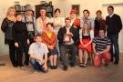 Das Team des Hohenfelser Burgtheaters
