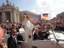 Ministranten beim Papst in Rom