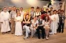 Das Team des Hohenfelser Burgtheaters 2010
