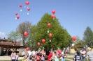 Start der Luftballons
