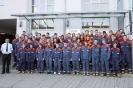 Die Teilnehmer am Wissenstest 2011