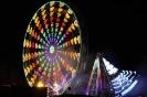 Riesenrad und Feuerwerk