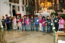 Vorschulkinder gestalten Gottesdienst