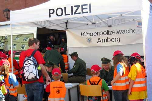 Kinderpolizeiwache der PI Amberg