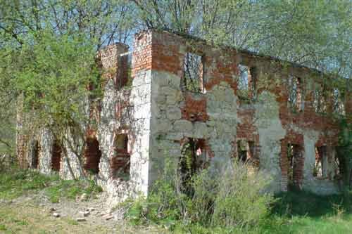 Ruine der ehemaligen Brauerei