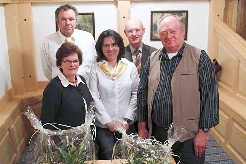 Die neuen Ehrenmitglieder des OGV (Foto: Franz Rothbauer)