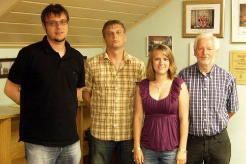 Neue Vorstandschaft des TSV Hohenfels (ohne Martin Schön)