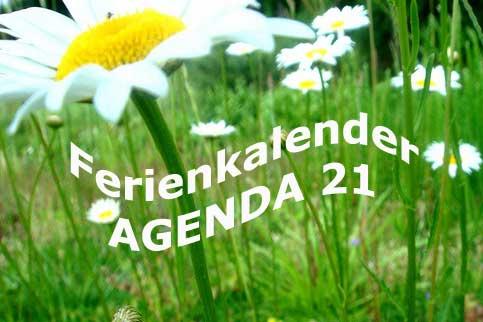 Viele attraktive Aktionen im Ferienkalender der Agenda 21