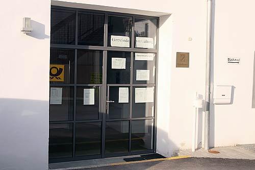 Eingang Kommunbrauhaus (Foto: D. Feuerer)