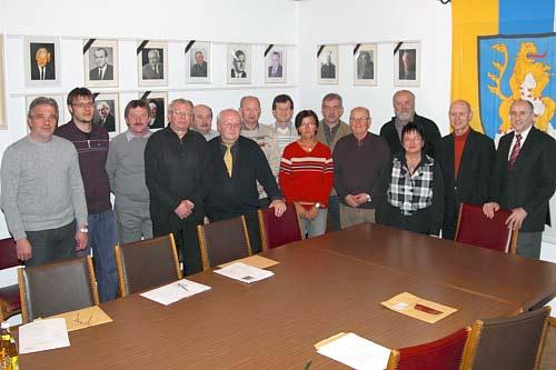 Letzte Sitzung des Marktrates (Foto: Reiner Hirschmann)