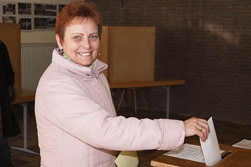 Die Wahlbeteiligung betrug 25,4 Prozent.