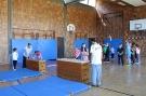 Parcour Workshop in der Turnhalle