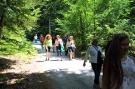 Strašicer bewundern Tropfsteinhöhle und Bauerngarten